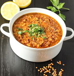 Tomato and Red Lentil Soup Recipe
