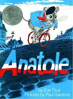 Anatole is a most honorable mouse. When he realizes that humans are upset by mice sampling their leftovers, he is shocked! He must provide for his beloved family--but he is determined to find a way to earn his supper.