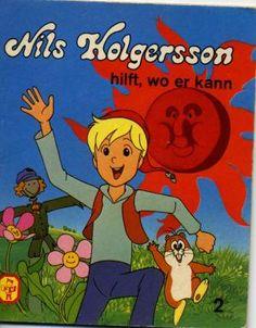 gebrauchtes Buch – Gisela Fischer – Nils Holgersson hilft, wo er kann     Teil 2