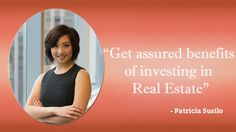 Patricia Mirawati Susilo's  personal interests and passion made her join her brother at the age of 20 in businesses and entrepreneurship sectors. Patricia Susilo is a successful business woman because she shaped her own life and future. Pinterest - http://www.pinterest.com/bryansusilo007/patricia-mirawati-susilo-property-investor-entrepr/
