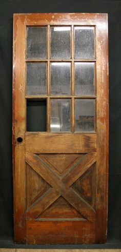 32x 80 Antique Exterior Entry Wood Door 9 by PennAntiqueRestore,  For the pantry door