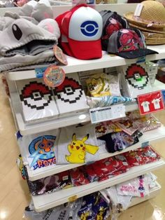 Pokemon Photos from Tokyo - Pokemon apparel at Pokemon Center Tokyo. They need to have this stuff in America.