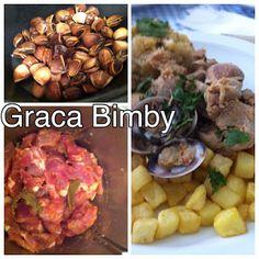 Bimby Truques & Dicas: Carne de porcoaalentejana acompanhadas com migas...
