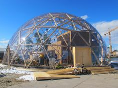CO2 E - RACE/CO2 GREEN DRIVE: BUCKY DOME OF VISIONS - THE FUTURE IS ONCE AGAIN NOT WHAT IT USED TO BE IN COPENHAGEN