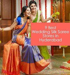 9 Best Kanjeevaram Silk Saree Stores in Hyderabad