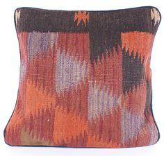 Orient Kelim Kissenhülle  Kilim Pillow +  ca. 42x42 cm Nr.70355