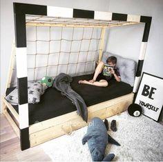 Soccer Room Decor, Boys Car Bedroom, Cool Kids Rooms, Teenage Room, New Room, Baby Room, Toddler Bed, Home Decor, Bedrooms