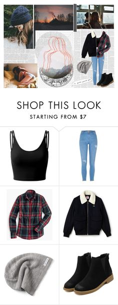 """Eva #02"" by flying-papillon ❤ liked on Polyvore featuring Doublju, River Island, J.Crew, Lacoste, Converse, indie, alternative, EVA, skam and evamohn"