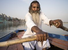 The Boatman, Varanasi by Chris Willson on 500px