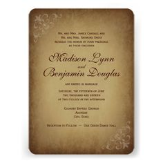 DealsVintage Rustic Wedding Invitations Rounded Corners Custom Inviteslowest price for you. In addition you can compare price with another store and read helpful reviews. Buy
