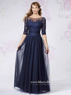 Tulle & Lace Gown