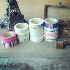 Paris theme Masking tape