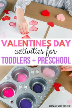 Are you looking for sensory and play to learn activities you can try at home this Valentines Day? Here are some really fun Valentines Day ideas for kids! What Is Valentines Day, Fun Valentines Day Ideas, Valentines Day Hearts, Valentine Day Crafts, Valentine Sensory, Toddler Learning Activities, Valentines Day Activities, Childcare Activities, Friend Crafts