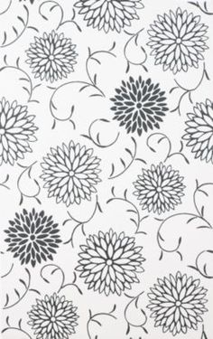 Colours Romantic Black & White Paste the Wall Wallpaper, 16497 Wall Stickers Wallpaper, Wallpaper Ideas, Organizing, Romantic, Colours, Quilts, Black And White, Floral, Room
