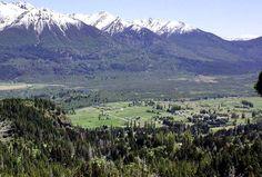 paisaje de Villa Lago Rivadavia