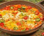 شكشوكة البيض سهلة وسريعة للسحور