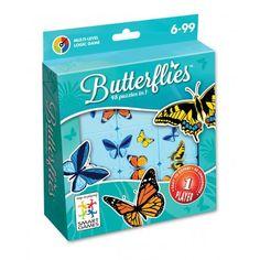 Logikspil - Butterflies, smart game