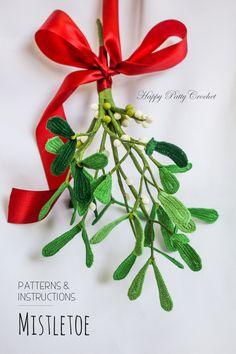 Crochet Patten for a Mistletoe by Happy Patty Crochet