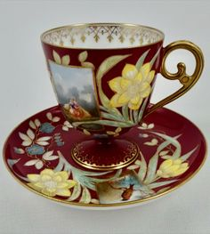 Chocolate Roses, Chocolate Cups, Vintage Cups, Vintage Tea, Coffee Cups, Coffee Time, Tea Time, Bone China Tea Cups, Tea Bowls