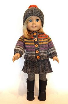 Huckleberry Friend by Kristen Rettig free pattern for hat, sweater and skirt