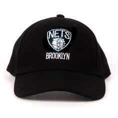 1f9734e839c NBA Brooklyn Nets LED Light-Up Logo Adjustable Hat