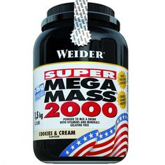 Weider Nutrition Mega Mass 2000 Cookies & Cream 1500 g