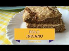 Hoje a gente vai mostrar como se faz um bolo que tem sido encontrado em muitos lugares no Brasil, o bolo indiano, que fizemos na versão low carb.