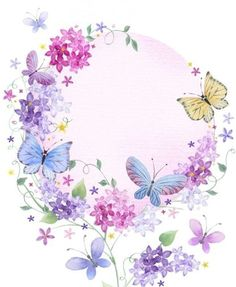 Victoria Nelson Victoria Nelson Available All Auntie Border . Butterfly Wallpaper, Butterfly Art, Butterflies, Flower Backgrounds, Wallpaper Backgrounds, Borders And Frames, Border Design, Writing Paper, Vintage Paper