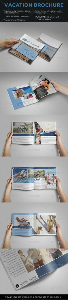 Welcome To Greece Indesign templates, Template and Brochures - vacation brochure template
