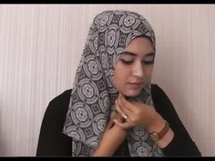 cara memakai jilbab segi 4 terbaru dan mudah - YouTube