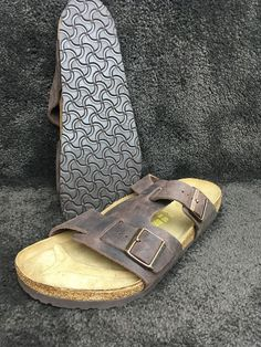 1402af4b1e83 Birkenstick 46 Arizona With Cover Strap Size 13 US EXCELLENT CONDITION