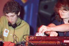 Thomas Bangalter Guy-Manuel de Homem-Christo perform in 1995 without Daft Punk helmets