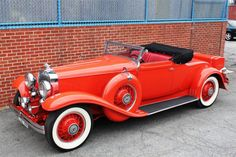 Stutz SV-16 Derham Convertible Coupe 1931.
