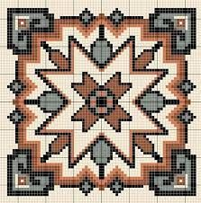 Resultado de imagen para punto de cruz mexicano con esquemas gratis