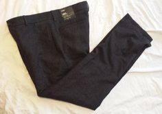 Banana Republic men size 31x32 #wool blend GAVIN pants with flat front NWT visit our ebay store at  http://stores.ebay.com/esquirestore