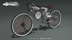LM Vintage Cruiser by Andre Costa http://www.carbodydesign.com/2013/07/lm-cruiser-bike-design-challenge-the-winners/