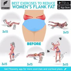 A great combination of exercises that will help you get rid of flank fat! Double… A great combination of exercises that will help you get rid of flank fat! Double Tap and SAVE if you find this useful! Fitness Workouts, Sport Fitness, At Home Workouts, Fitness Tips, Fitness Motivation, Simple Workouts, Fitness Plan, Health And Fitness Articles, Health Fitness