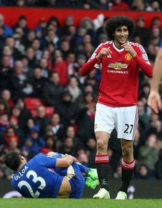 Fellaini's agent said he would consider a move to Roma