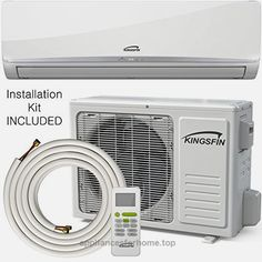 pin by appliancesforhome on air conditioners kingsfin 12 000btu mini split ductless ac air conditioner and heat pump 12000 btu 115v