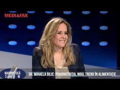 Marius Tucă Show (PART I) - Dr. Mihaela Bilic: Micul dejun e un moft - YouTube Youtube, Diet, Youtubers
