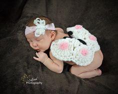 BUTTERFLY PHOTO PROP Headband Newborn by CraftCreationsEtsy, $14.95