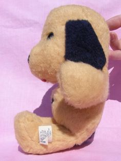 Henry Animal Fair Vintage Stuffed Dog by MixyMitzy on Etsy