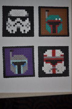 Star Wars Perler Coasters by mushslipvayne.deviantart.com on @deviantART
