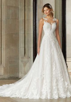 2017 Wedding Dresses and Bridal Gowns by Morilee designed by Madeline Gardner. Romantic Bridal Tulle Ballgown with Embroidery on Bodice and flowing Skirt. Bridal Wedding Dresses, Wedding Dress Styles, Dream Wedding Dresses, Bridesmaid Dresses, Mori Lee Wedding Dresses, Cute Dresses For Weddings, Wedding Dress Sparkle, Bridal Style, Aline Wedding Dress Lace