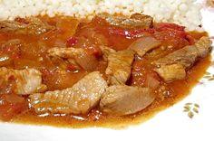 Pork, Meat, Chicken, Cooking, Red Peppers, Kale Stir Fry, Kitchen, Pork Chops, Brewing