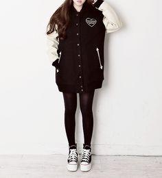 fashion black Asian fashion korean k;fashion