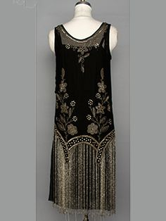 Beaded Flapper Dress, 1920'S
