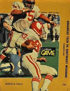 September 29th 1979 The College Game Arkansas Tech Vs. Southeast Missouri Football Program