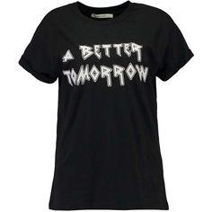 Gestuz AURA Print T-shirt (355 SEK) ❤ liked on Polyvore featuring tops, t-shirts, mixed print top, print t shirts, pattern tees, gestuz and print tees