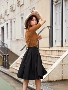 Source by women outfit 60 Fashion, Japan Fashion, Skirt Fashion, Korean Fashion, Autumn Fashion, Fashion Outfits, Womens Fashion, Modest Outfits, Simple Outfits